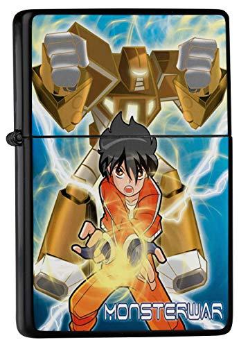 Briquet à essence Guerre Monster Imprimé Manga Robot