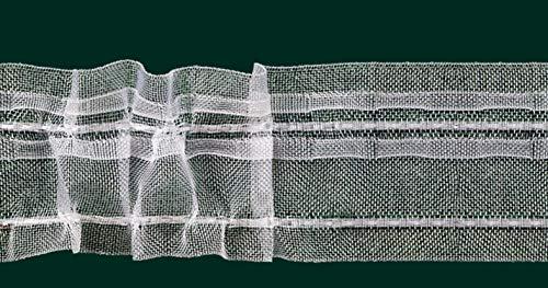 Ruther & Einenkel Universalband - Kräuselband, 50 mm, volltransparent, VAR. / Aufmachung 10 m