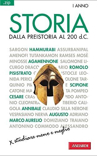 Storia. Dalla preistoria al 200 d.C.: Sintesi .zip