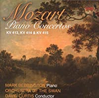 Mozart: Piano Concertos KV 413, KV 414 & KV 415
