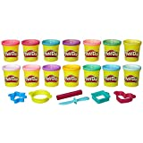 Play-Doh Sparkle and Bright 14 Pack of Cans, Non-Toxic Modeling Compound, 3-Ounce Cans (Amazon…