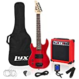 LyxPro Left Hand 30 Inch Electric Guitar Kit for Lefty Kids 3/4 Size Beginner's Guitar, Amp, Six Strings,...