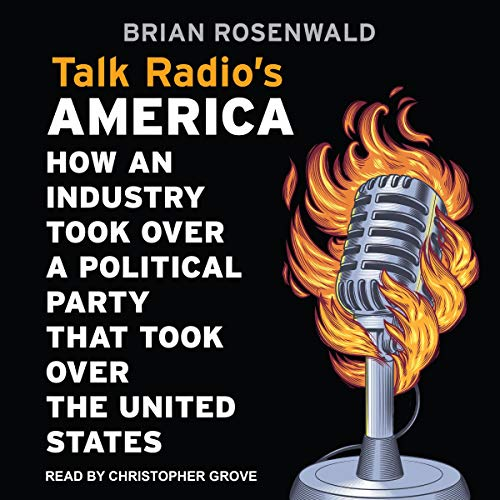 Talk Radio's America audiobook cover art