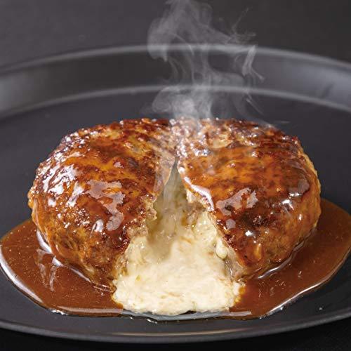 ガスト チーズINハンバーグ 10個 冷凍 焼成 ハンバーグ 150g デミグラスソース付 電子レンジであたためるだけ