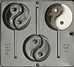 Candy Molds N More Ying Yang Lollipop Chocolate Candy Mold 3359
