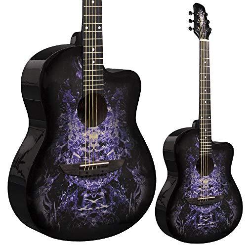 Lindo 933C Alien Purple Acoustic Guitar & Gigbag