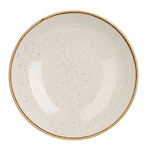 Churchill Teller, Porzellan, Barley White, 24.8 cm