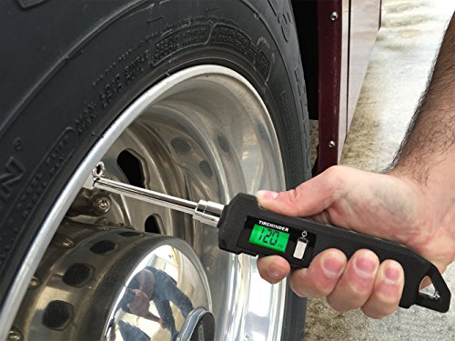 TireMinder TMG-AAA High Precision Digital RV Tire Pressure Gauge with 5 Year Warranty