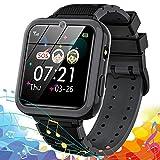 Reloj Inteligente para niños, Smartwatch teléfono para Niño con 7 Juegos SOS Música Despertador...