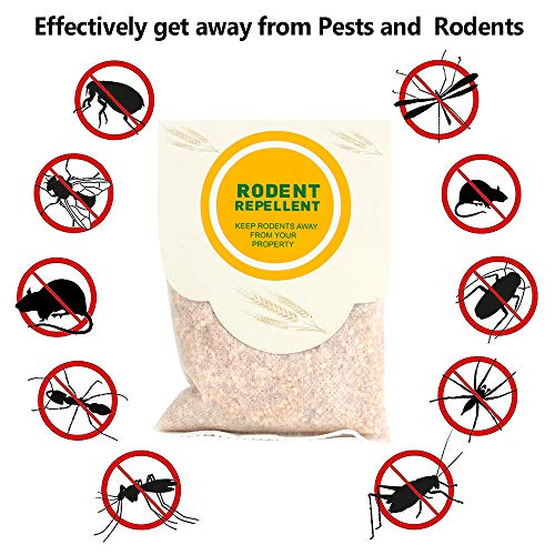SANSNICE Rodent Repellent,Pest Repeller to Repel Mice,Newest Pest Repellent,Pest Control Set of Electronic    Plug in Repellent Indoor for Mouses,Ultrasonic Insect Repellent,Best Mice Repellent-4Packs