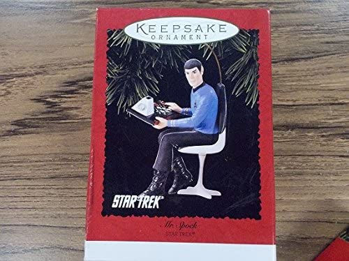 New Star Trek Mr. Atlanta Mall Hallmark Collectible Spock Ornament Long-awaited