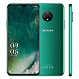 smartphone sbloccata doogee x95 (2020) schermo da 6,52 16gb rom + 2gb ram quad core 4g cellulare 13mp telecamere posteriori triple 4350mah batteria android10 facciale id telefonia doppia sim (verde)