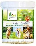 biocaregreen Natur Zeolith Nahrungsergänzung für Hunde   250g, Garantierte Vermahlung auf 50 μm   Für gesundes, glänzendes Fell und unterstützt die Bioverfügbarkeit von Nährstoffen