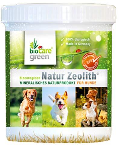 biocaregreen Natur Zeolith Nahrungsergänzung für Hunde | 250g, Garantierte Vermahlung auf 50 μm | Für gesundes, glänzendes Fell und unterstützt die Bioverfügbarkeit von Nährstoffen
