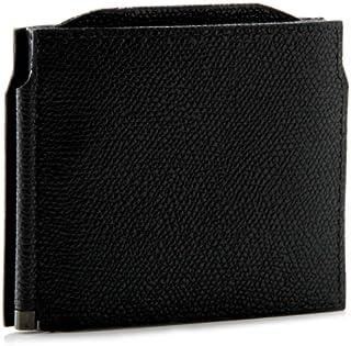 Valextra(ヴァレクストラ) 財布 メンズ グレインレザー マネークリップ ブラック V0L54-028-000NRD[並行輸入品]