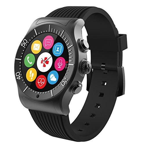 MyKronoz ZeSport - Reloj inteligente multideportivo GPS, monitor de corazón, pantalla a color con diseño elegante