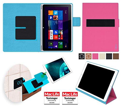 reboon Hülle für Acer Aspire Switch 10 V Tasche Cover Case Bumper | in Pink | Testsieger