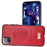 Marvel Avengers Cell Phone Case Protective for iPhone 11, Cotton Plush Case for Marvel Avengers Comic Super Hero Inspired Series 3D Premium Scratch-Resistant (RIron, iPhone11)
