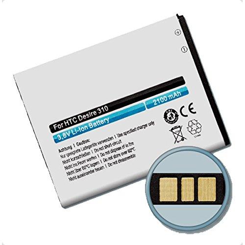 MeXXstar Akku HTC Desire 310, D310N / B0PA2100, BA-S960 (2100mAh/7,98Wh)