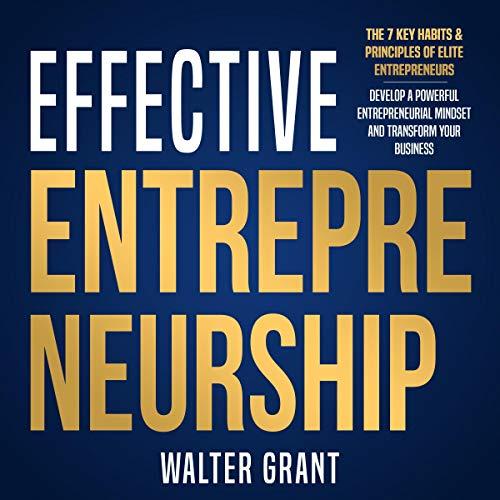 Effective Entrepreneurship cover art