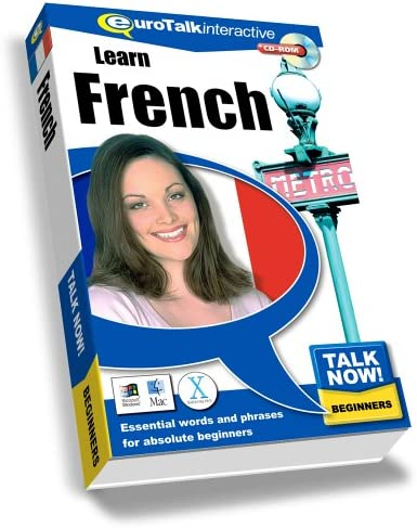 Talk Now Learn French Beginning Level Old Version product image