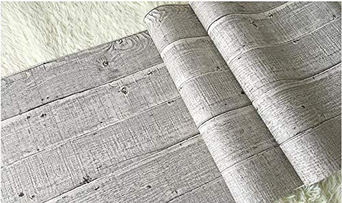 Muebles Pegatinas Papel Pintado De Grano De Madera De Imitación Tablón De Madera Nostálgico Vintage A Rayas Sala De Estar Restaurante Bar Fondo Papel De Pared