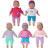 ebuddy 5 set di accessori per bambole, per bambini da 36 cm...
