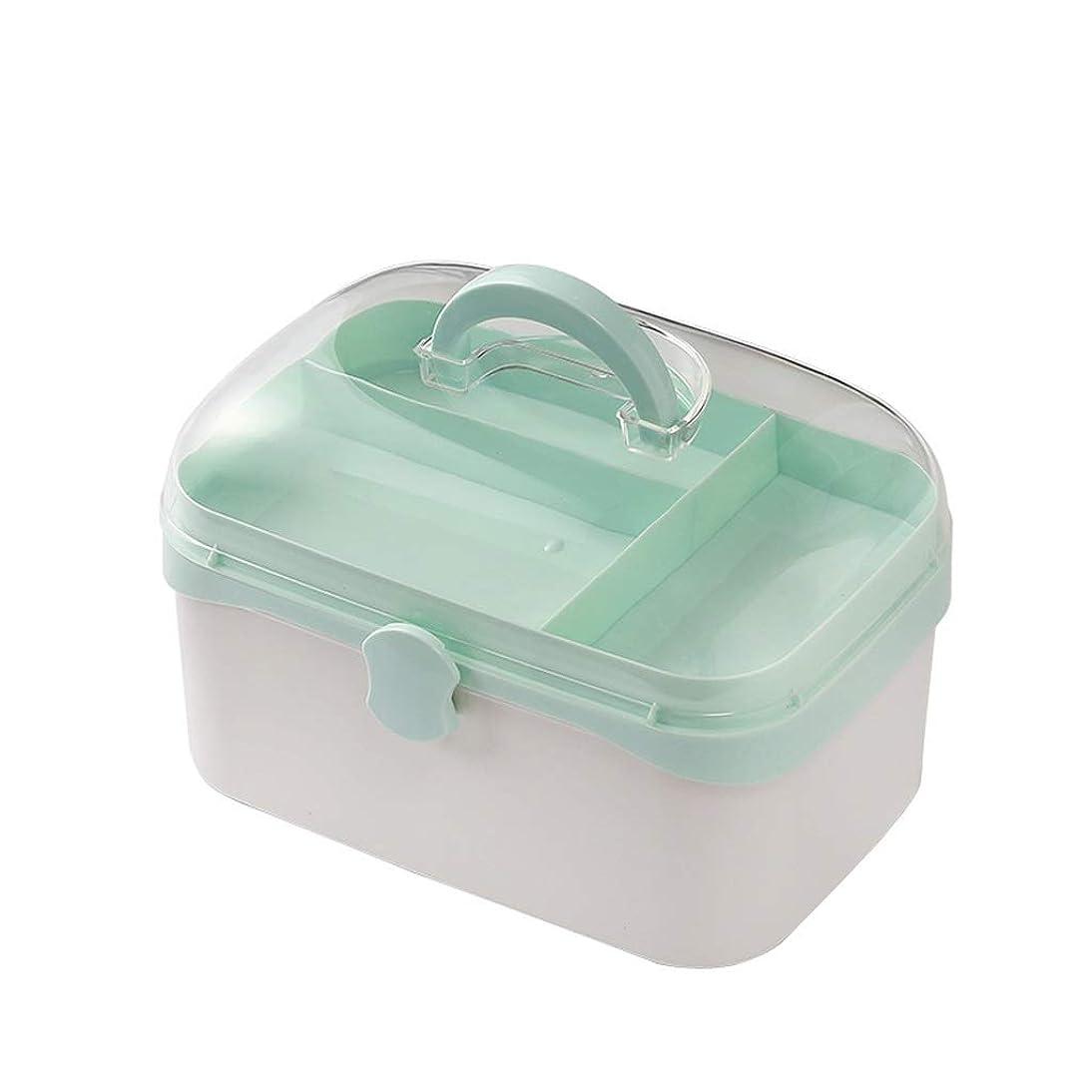 パズルエンティティに負けるNYDZDM 家庭用救急箱、内側キャビネット収納ボックス、コンパートメント付き医療ボックス (Size : S)