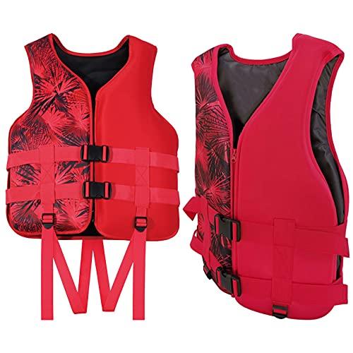 Chaqueta salvavidas de espuma de flotabilidad para adultos usada para deportes acuáticos