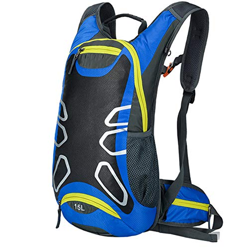 Mochila impermeable para bicicleta 15L mochila de hidratación para bicicleta MTB para...