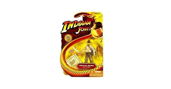 Temple of Doom Lucas Film Ltd SG/_B001GVPL7Y/_US BestMaxs Movie Hasbro Series 4 Action Figure Indiana Jones with Whip and Machette