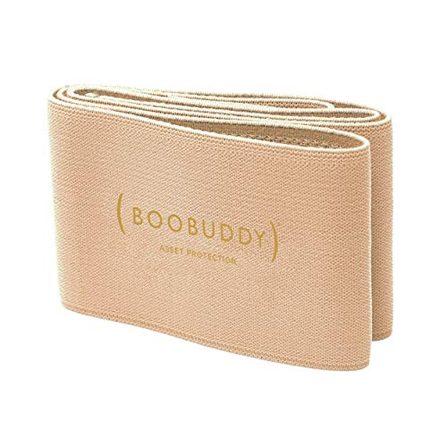 Booband Boobuddy Sujetador Deportivo para Mujer - Yoga Fitness Top para Correr, Entrenar y Hacer Ejercicio - Parte Superior Ajustable y Cómoda - Previene Lesiones y Mejora la Postura - Tamano: M