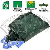 RETE ANTISPINA 8x8 MT - CON SPACCO / 90 GR. / RETI TELI OLIVE/RACCOLTA OLIVE