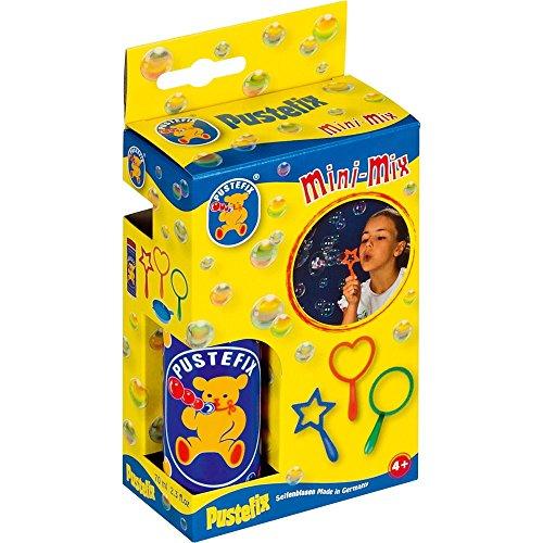 Stadlbauer 420869455 - Pustefix Mini-Mix 3 Bubbel-Ringe, 70 ml