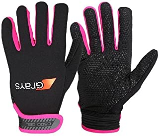 GRAYS G500 Gel Gloves Size: Small Black/Pink