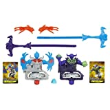 Beyblade Shogun Steel Beywarriors Earth VS. Sky Element Lot de 2