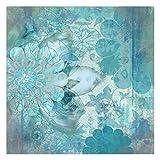 Bilderwelten Fotomural - Winter flowers - Mural cuadrado papel pintado fotomurales murales pared papel para pared foto 3D mural pared barato decorativo, Dimensión Alto x Ancho: 288cm x 288cm