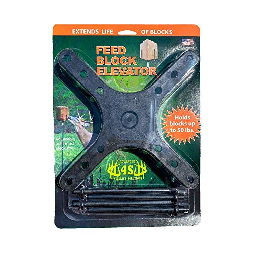 Advanced 4S Wildlife Solutions | Feed Block Elevator | Protects Deer...