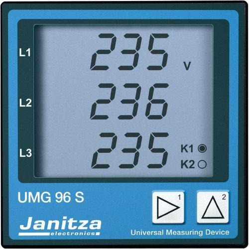 Janitza UMG 96L Vierleiter Universal-Messgerät Spannung: L-N 50 bis 255 V/AC, L-L 86 bis 442 V/AC,4