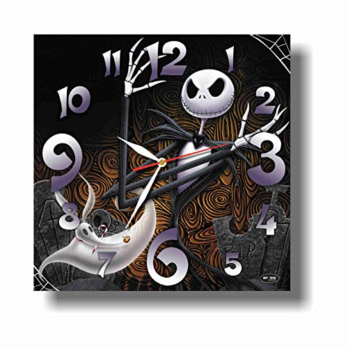 Art time production The Nightmare Before Christmas 11' Wonderful Handmade Wall Clock - Unique Design - BE Special - The Best Present Made of Plastic