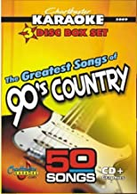 150 Greatest 90's Country CDG CD+Graphic Tracks from Chartbuster In the Style of Alan Jackson Garth Brooks Alabama