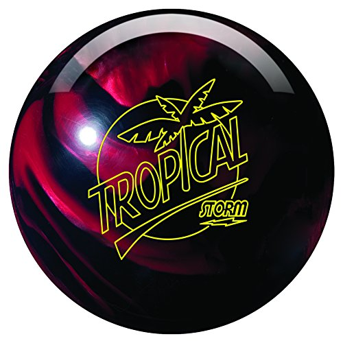 Storm Tropical Breeze Bowling Ball- Black/Cherry (10lbs)