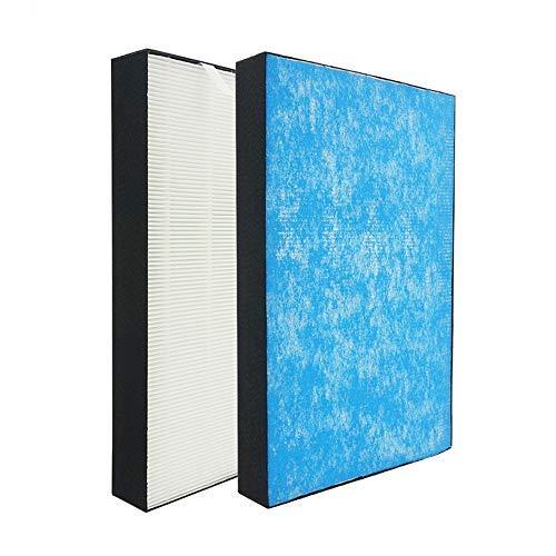 J&H 空気清浄機交換用 静電HEPAフィルター 集塵フィルター 対応品番: KAFP044A4 互換品 (1枚入り)