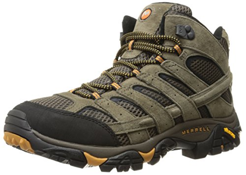 Merrell Men's Moab 2 Vent Mid Hiking Boot, Walnut, 11 M US