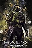 Notebook: Halo The Master Chief Collection Is A Compilation Of F , Journal for Writing, College Ruled Size 6' x 9', 110 Pages