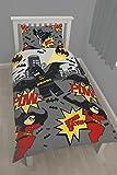LEGO Bettbezug Motiv Batman Einzelbett Poly-Baumwo