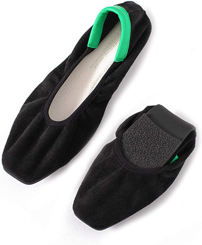 Faltbare Tanzschuhe Bequeme Damenschuhe Flache Schuhe Stiefelschuhe Lssige Arbeit Kleid Schuhe Tragbare Faule Schuhe
