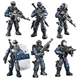 YEIBOBO ! Special Forces Mini Military Action Figure with Weapons and Accessories (Lightning SWAT Team XJ-9902)