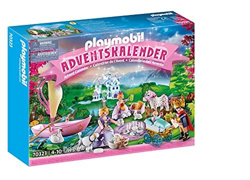 PLAYMOBIL Princess Calendario de Adviento Pícnic Real, A partir de 4 años (70323)