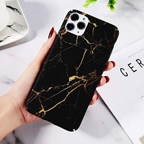 Funda para iPhone FQSCX para iPhone 11 12 Pro MAX 7 8 6 Plus Funda para teléfono con Textura de Piedra de mármol para iPhone XR X XS MAX Funda rígida para PC con Graffiti Colorido paraiPhone11Pro